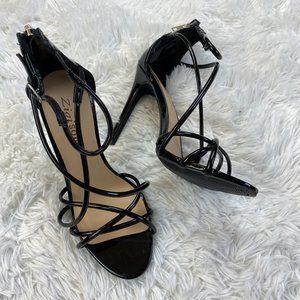 Zigi Soho Black Heels Size 6.5